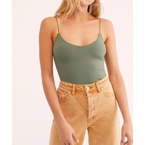 FREE PEOPLE 2 in 1 Seamless Cami